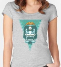 Irradiated Gorilla No. 2 Women's Fitted Scoop T-Shirt