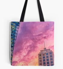 DB-Tower and Adlon Hotel Tote Bag