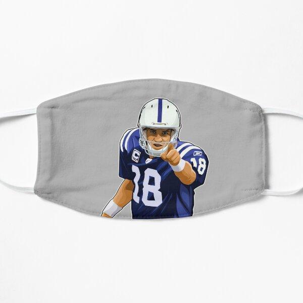 Peyton Manning Point At You Flat Mask