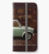 Austin Mini Cooper Mixed Media iPhone Wallet/Case/Skin
