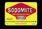 SODOMITE Sticker by Ethel Yarwood