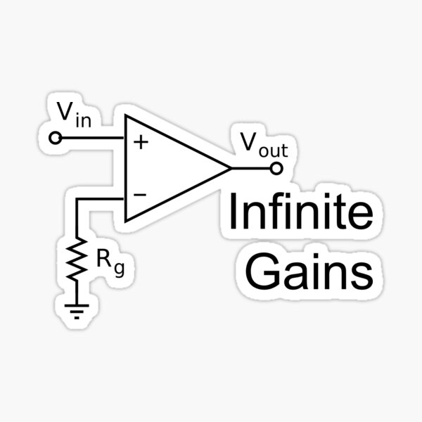 Infinite Gains Sticker