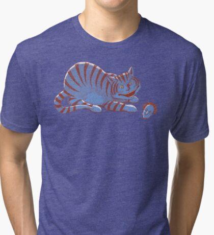 Schroedinger's hairball Tri-blend T-Shirt