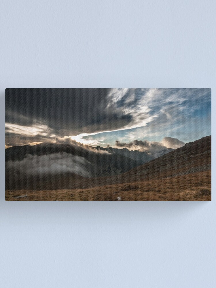 Alternate view of Elements Canvas Print