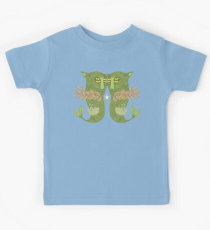 Mutant Catfish Twins Collecting Starfish Kids Clothes