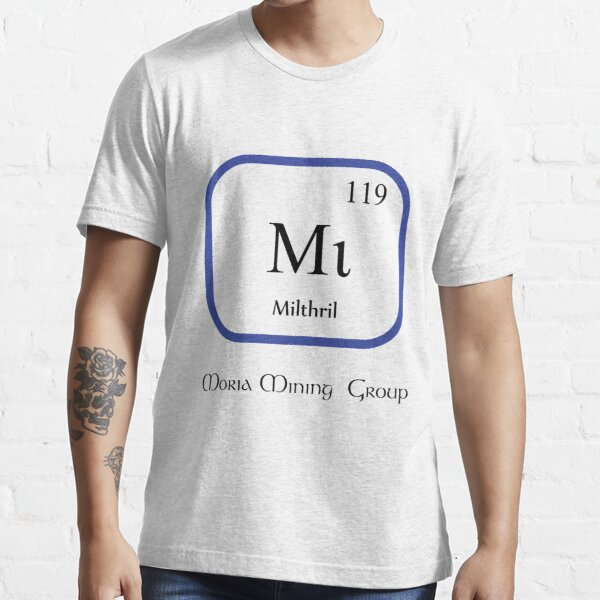Mithril Chemical Symbol  Essential T-Shirt