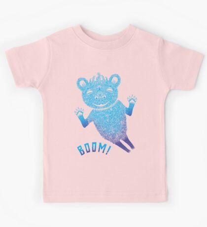 Blue Berlin Bear Goes Boom Kids Clothes