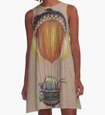 Traveling in Style (further adventures of Explorer Snails) A-Line Dress
