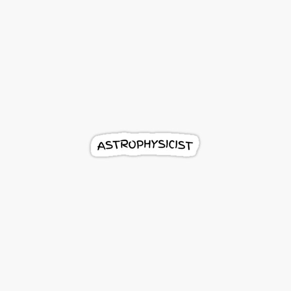 Astrophysicist designs Sticker