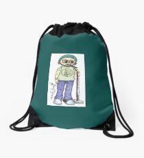 Jason Manns' Journey Drawstring Bag