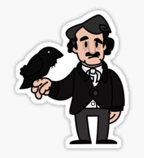 Edgar Allen Poe Sticker