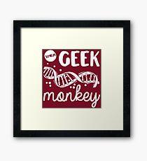 Geek Monkey Cosima Tv Show Framed Print