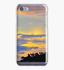 Beautiful sunset on Senggigi Beach, Lombok, Indonesia iPhone Case/Skin