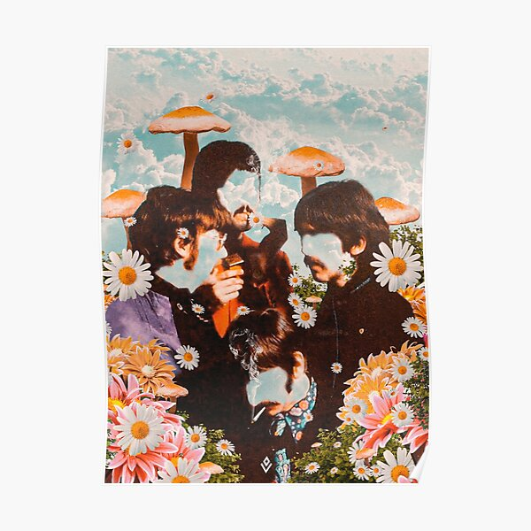The beatles in the sky Poster
