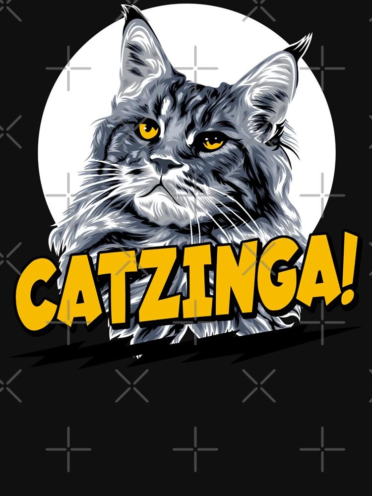 Catzinga! von brainbubbles