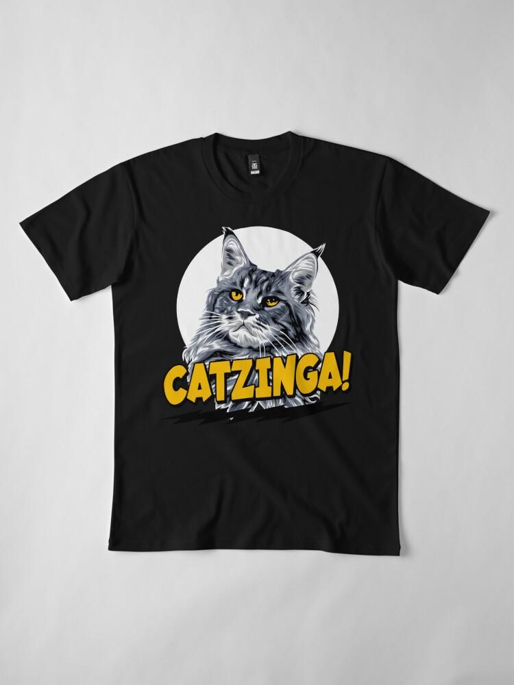 Alternative Ansicht von Catzinga! Premium T-Shirt