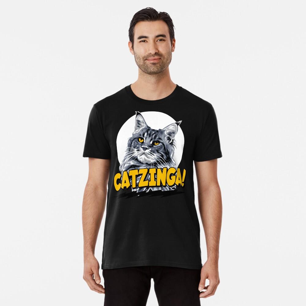 Catzinga! Premium T-Shirt