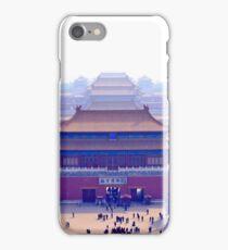 Forbidden city complex in Beijing, China iPhone Case/Skin