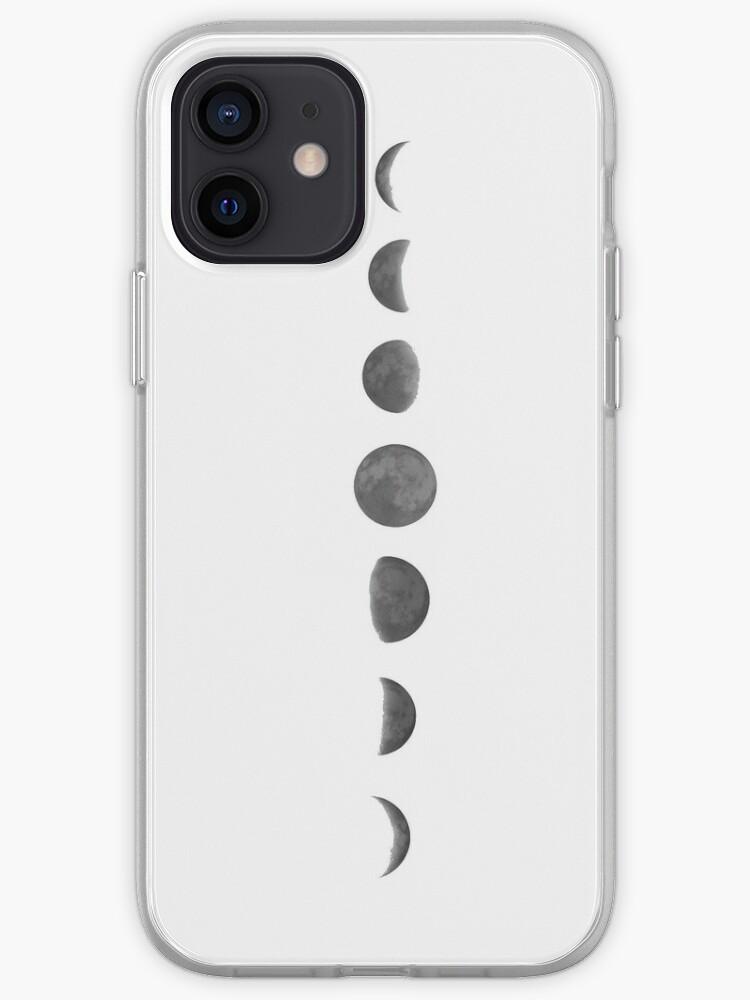 Phases de lune   Coque iPhone