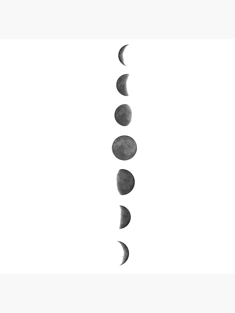 Moon Phases by Lil-Salt