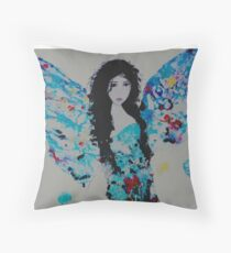 """Angel Baby"" Throw Pillow"