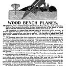 Bailey Adjustable Wood Bench Planes Handbill 1903 by toolemera