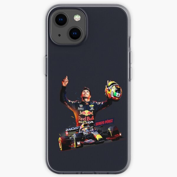 Sergio Perez in Low Poly iPhone Soft Case