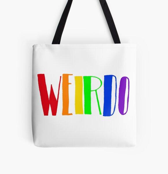 Rainbow WEIRDO  All Over Print Tote Bag