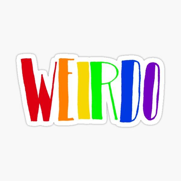 Rainbow WEIRDO  Sticker