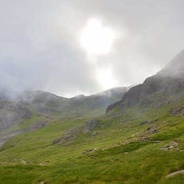 The Lake District: Early Morning on Scafell by rob3003