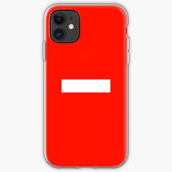 Betreten Verboten (Anti-Social Shield) iPhone Soft Case