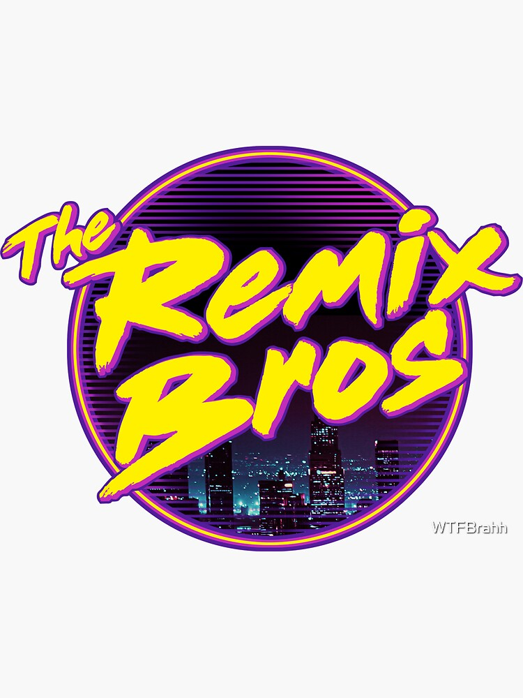 The Remix Bros Logo Design by WTFBrahh