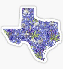 Texas Flowers Sticker