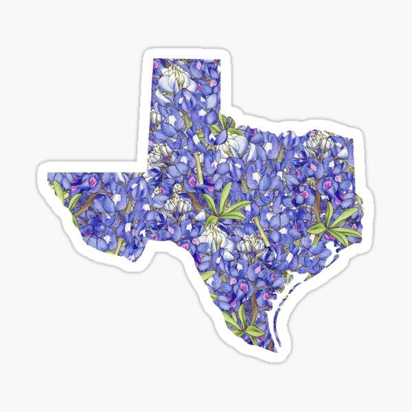 Texas Flowers Sticker