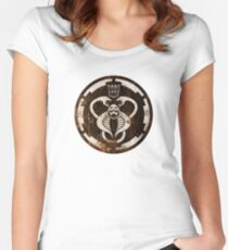The Ultimate 80's Evil (distressed) Women's Fitted Scoop T-Shirt