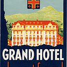 The Grand Hotel in Clermont Ferrand in France by paulgrand