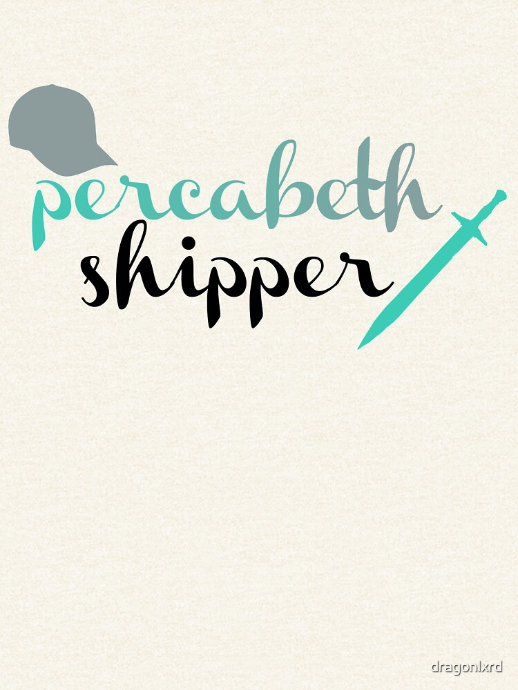 Percabeth Shipper de dragonlxrd