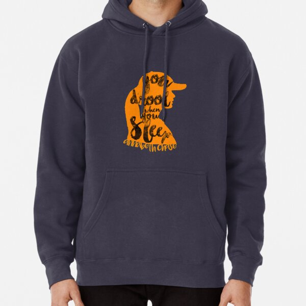 "Percy Jackson Quote ""You Drool When You Sleep"" Pullover Hoodie"