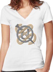 Holtzmann Knows Best Women's Fitted V-Neck T-Shirt