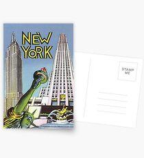 Postales Viajes de Nueva York Vintage