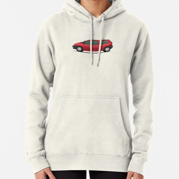 1993 mk1 Twingo launch colour in RED Pullover Hoodie