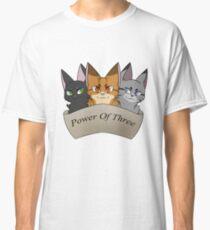 Power of Three Classic T-Shirt