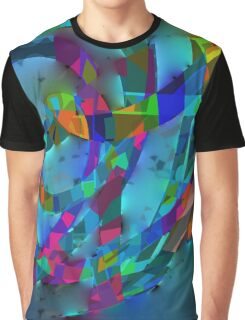 My String Theroy - Digital Artifact Graphic T-Shirt