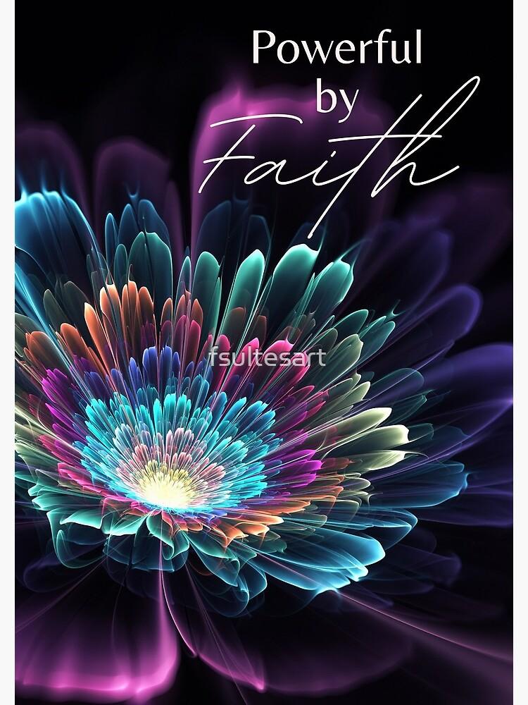 JW 2021 Regional Convention - Powerful by Faith by fsultesart