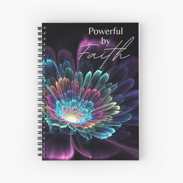 JW 2021 Regional Convention - Powerful by Faith Spiral Notebook