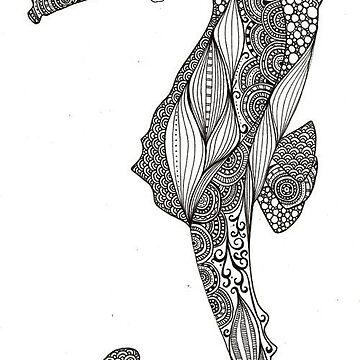 Sea horse by Mina122214