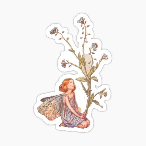 fairy girl Sticker