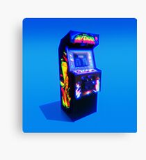 DEFENDER - 1981 ARCADE MACHINE Canvas Print