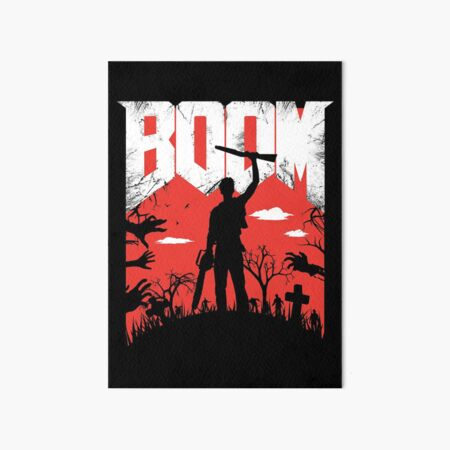 This is my Boomstick! Art Board Print