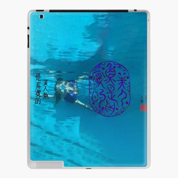 Mermaids are Real Daoist Dragon Script Chinese idiom Talisman iPad Skin